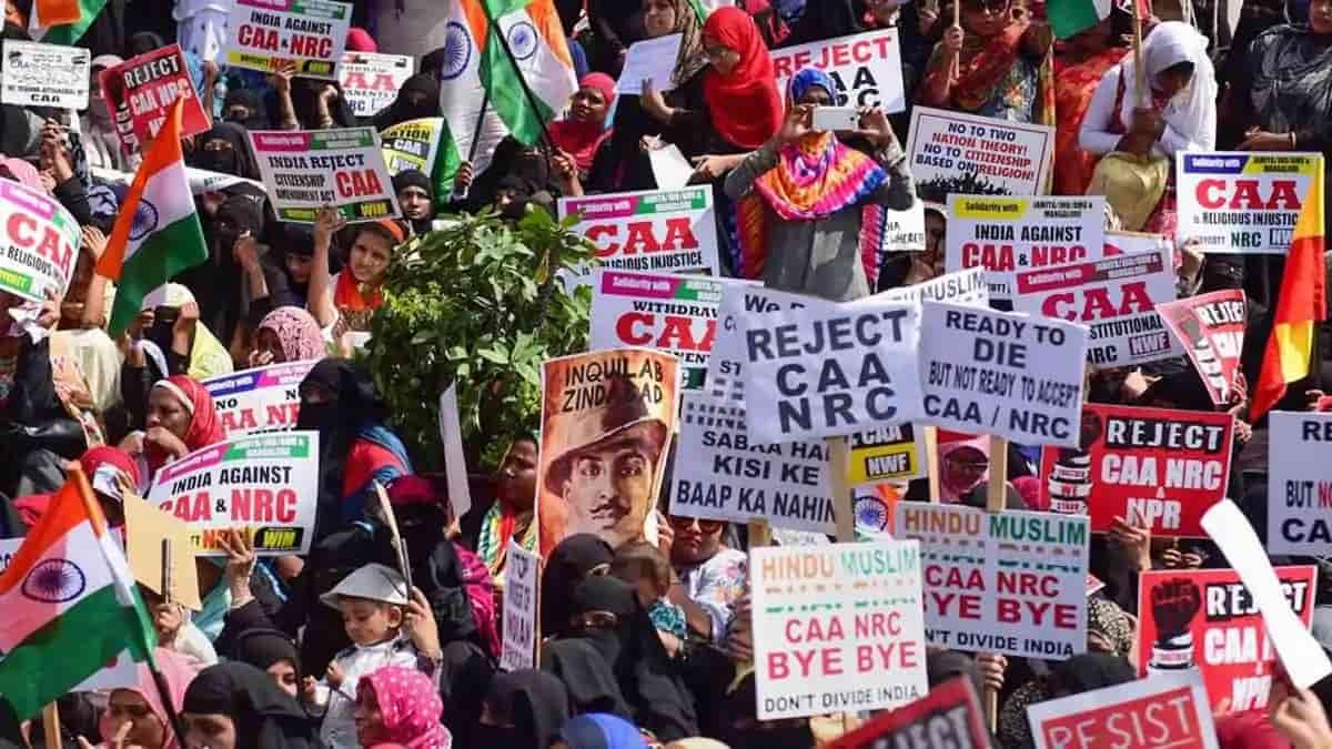 CAA NRC Protest