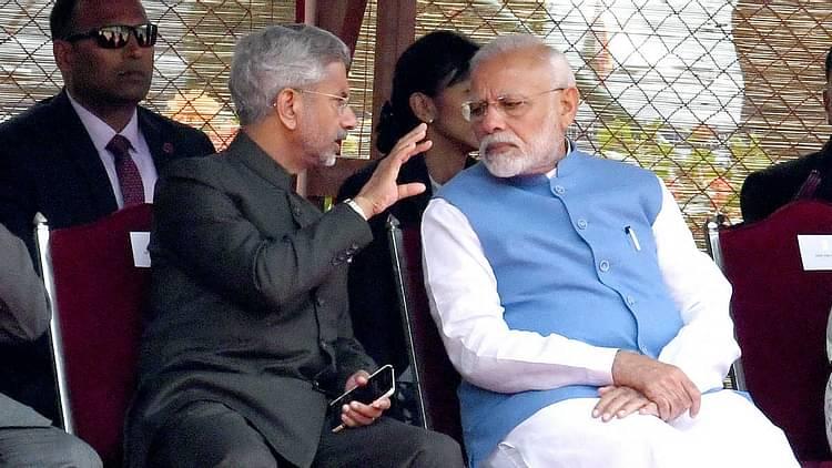 S Jaishankar and Narendra Modi