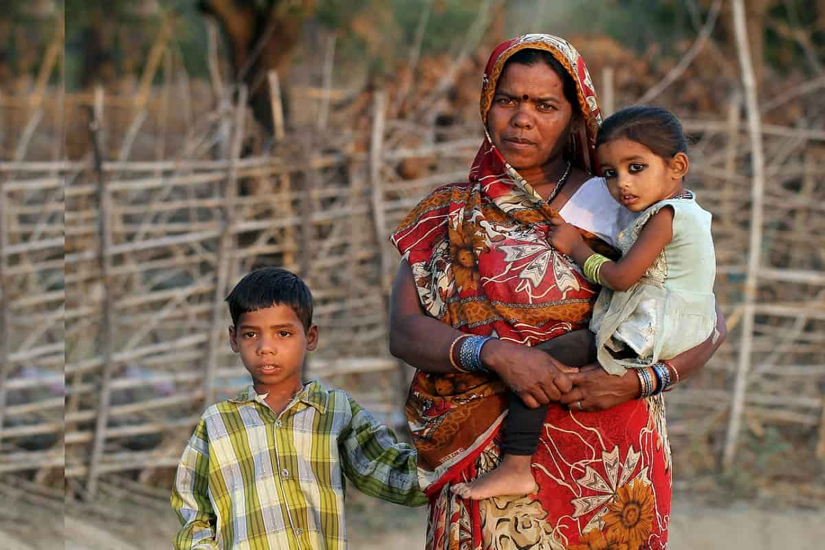 indian-mother-child