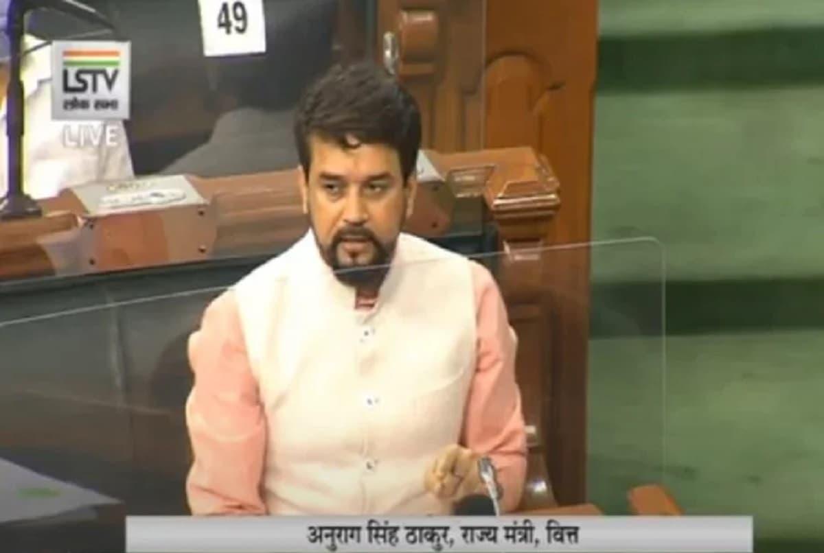 Aurag Thakur in Lok Sabha