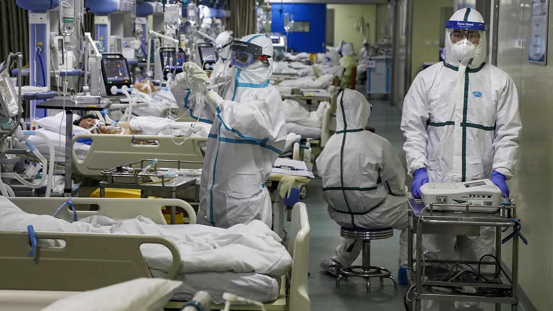 Coronavirus ICU Bed