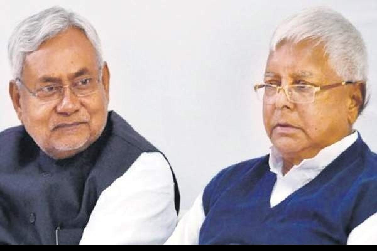 Nitish Kumar Lalu Yadav