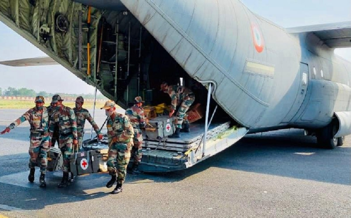 Indian Army Covid Hospital